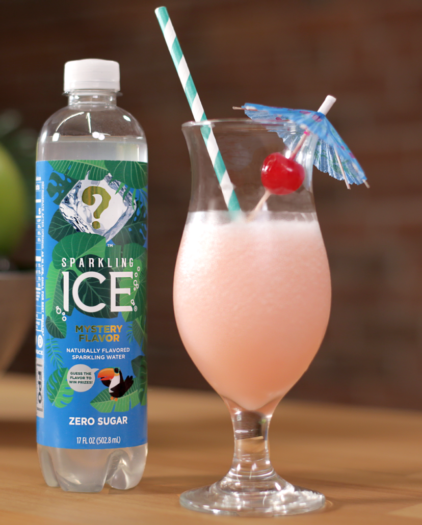Sparkling Ice #WhatTheFlavorSweeps Mystery Flavor Cocktail