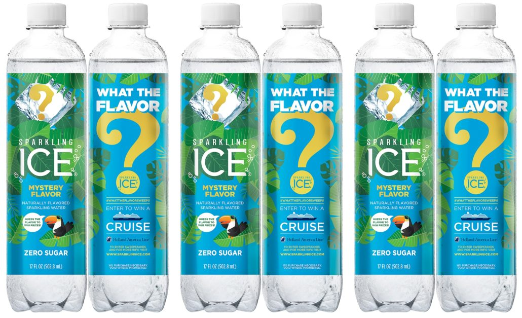Sparkling Ice #WhatTheFlavorSweeps Mystery Flavor