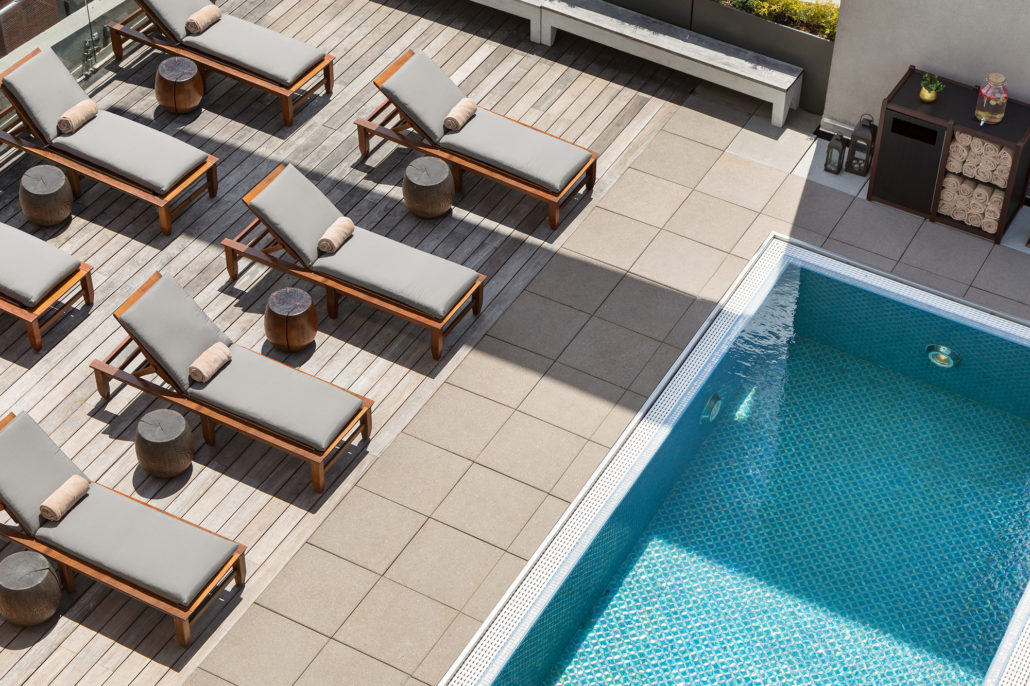 The James Hotel Rooftop Pool