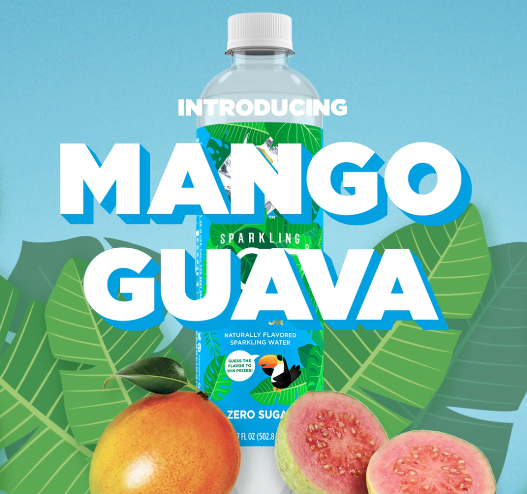 Sparkling Ice #WhatTheFlavorSweeps Mystery Flavor - Mango Guava