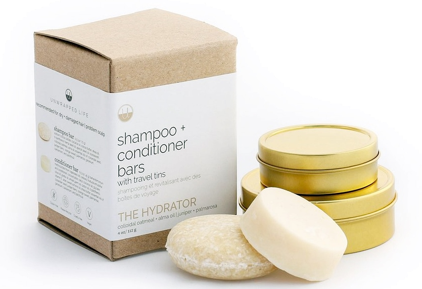 Unwrapped Life zero-waste hair care