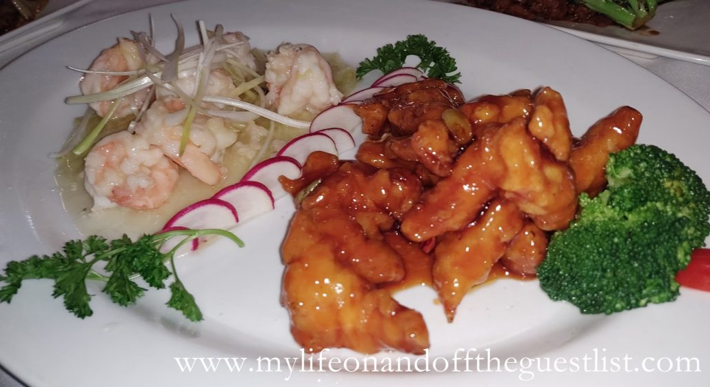 Chinese Food Photography: dragon & phoenix (surf & turf)