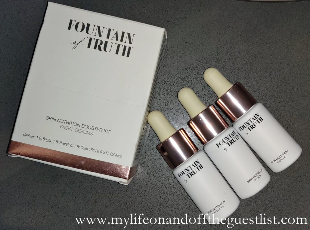 Fountain of Truth Eco-luxe products