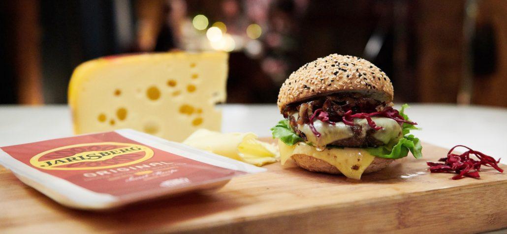Jarlsberg Cheese National Cheeseburger Day