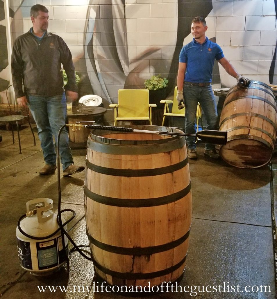 Knob Creek Bourbon Wood Casks