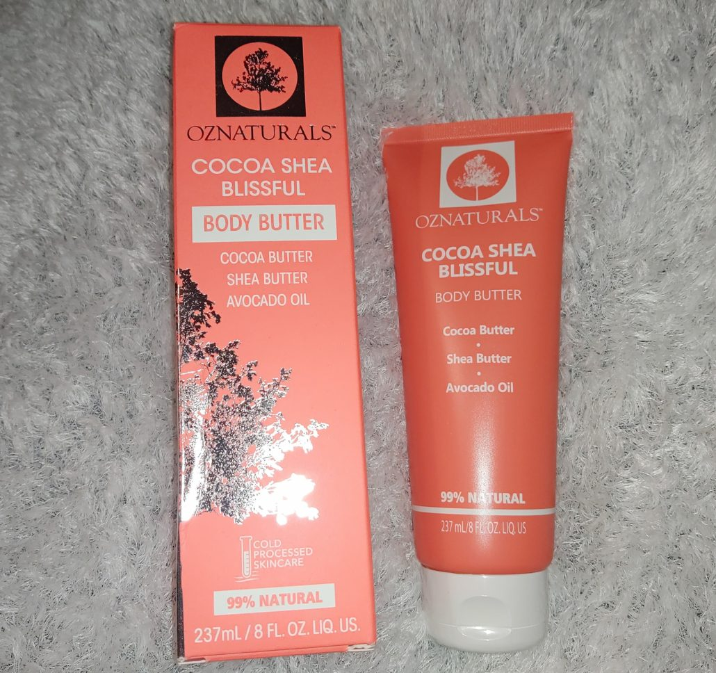 OZNaturals NEW! Cocoa Shea Blissful Body Butter