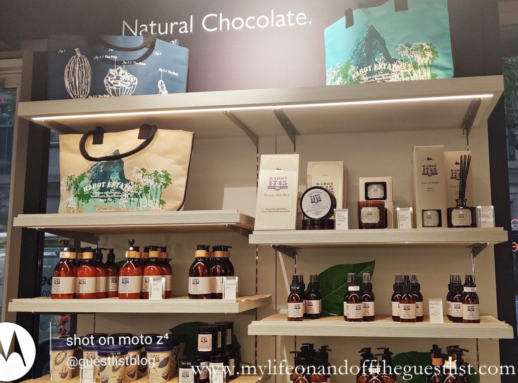 Hotel Chocolat's Rabot 1745 Beauty Makes it's US Debut
