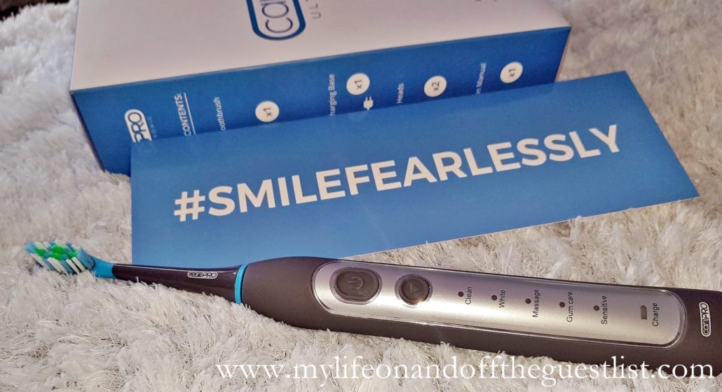 Smile Brilliant cariPRO Ultrasonic Electric Toothbrush