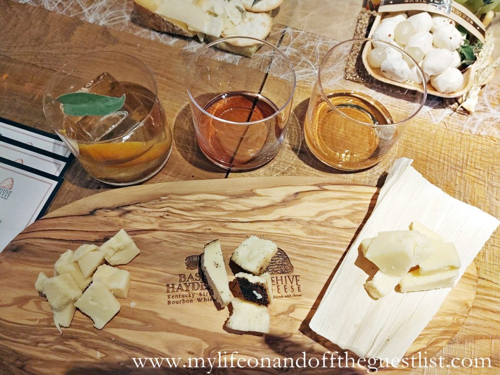 """Basil Hayden's x Beehive """"Pour Me a Slice"""" Cheese"""