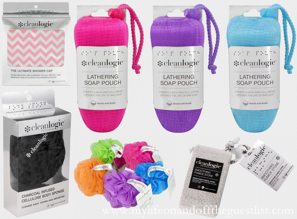 Cleanlogic Bath & Body Braille Products