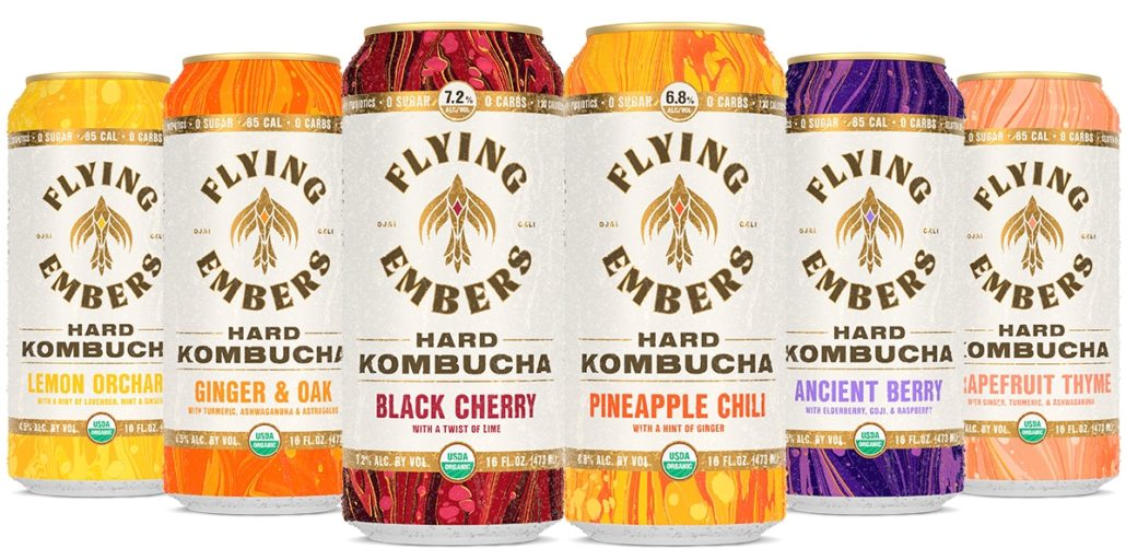 Celebrate National Booch Day with Flying Embers