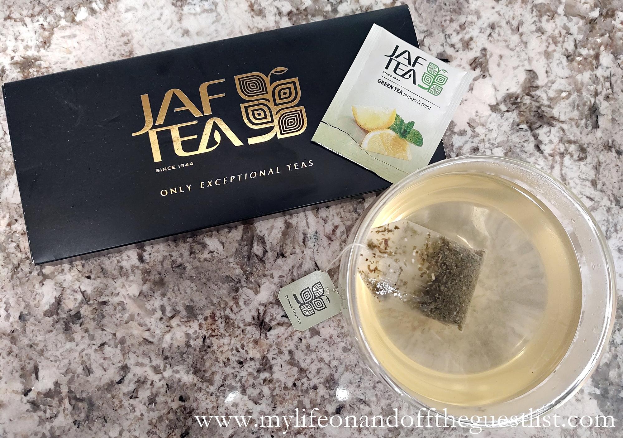 Drink to Your Health: JAF TEA Artisanal Handpicked Teas