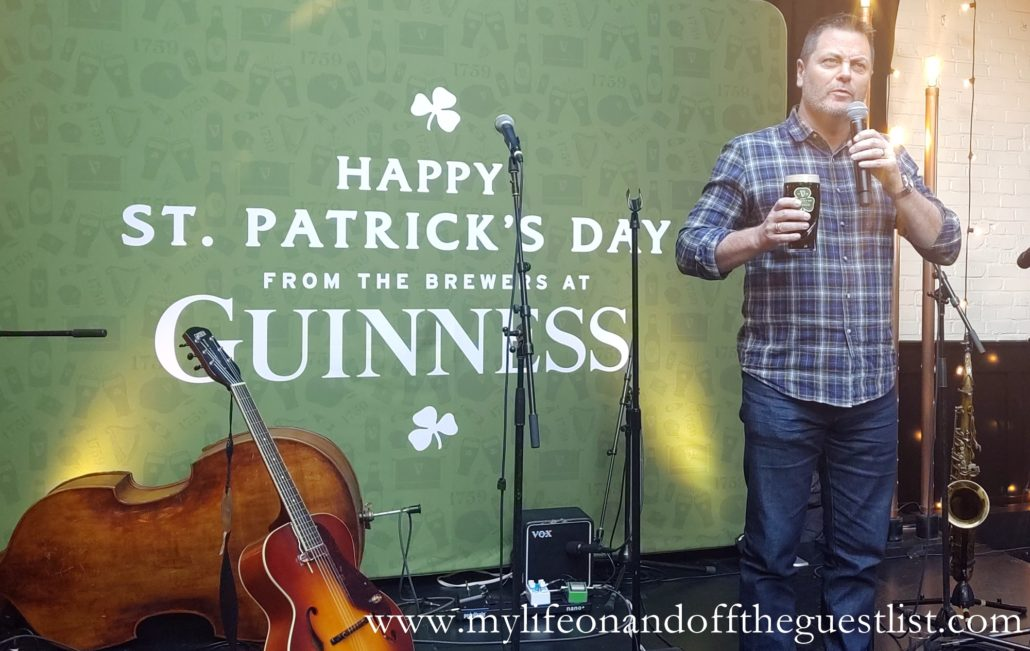 Nick Offerman & Guinness Celebrate The Countdown to St. Patrick's Day