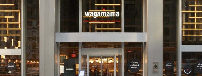 Grand Opening: Asian-Inspired Wagamama Opens 3rd New York Location