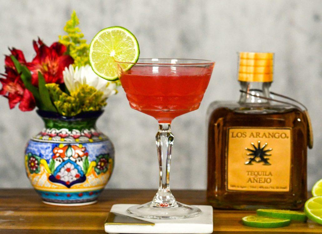 Los Arango Añejo Tequila Los Arangos Rose