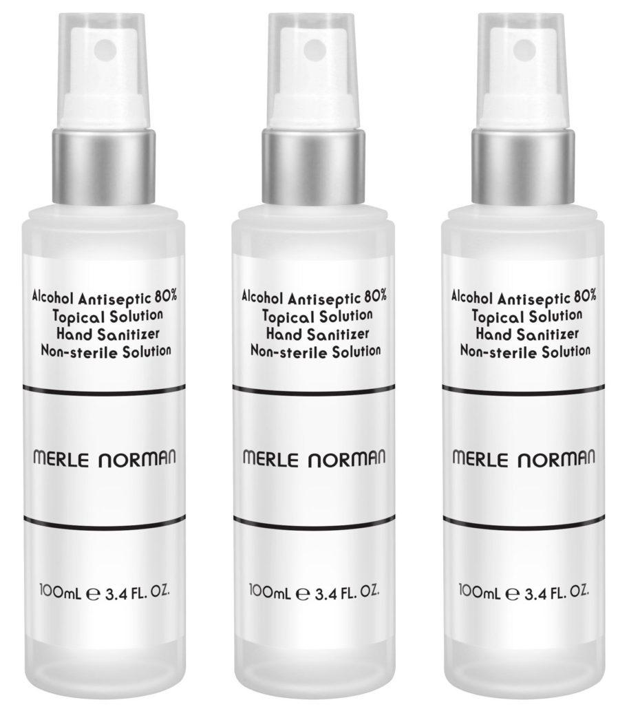 Merle Norman Cosmetics Hand Sanitizer