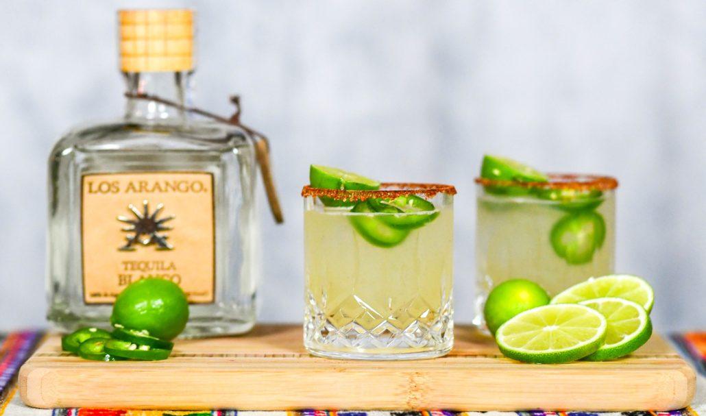 Los Arango Blanco Tequila Spicy Ginger Margarita