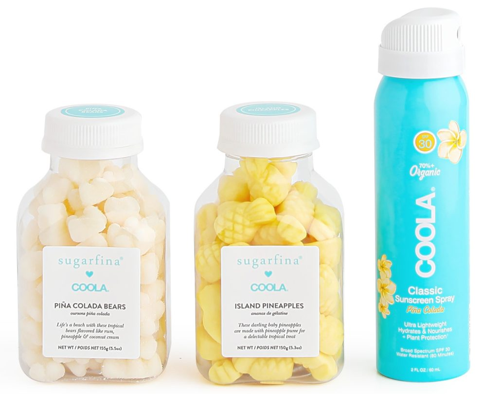 NEW for the Summer: The Sugarfina x COOLA Stay Tropical Gift Set