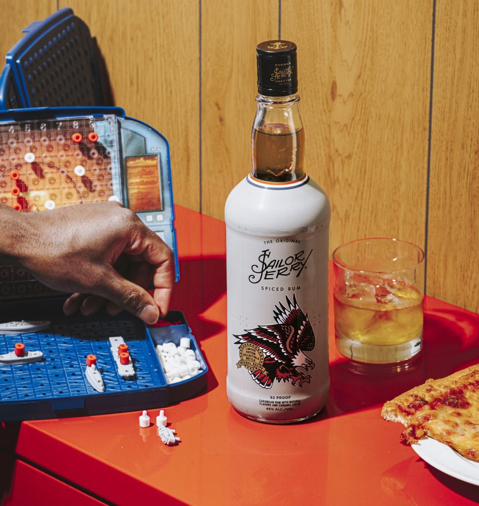 Limited Edition Sailor Jerry Bottle in Honor of Military Appreciation Month