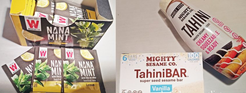 Versatile Pantry Staples From Mighty Sesame Co. and Wissotzky Tea