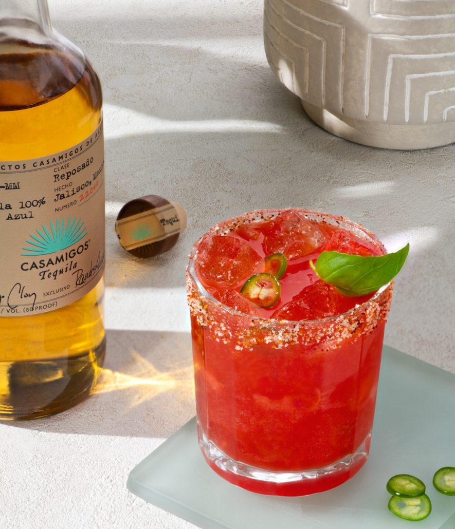 Casamigos Spicy Strawberry Basil Margarita