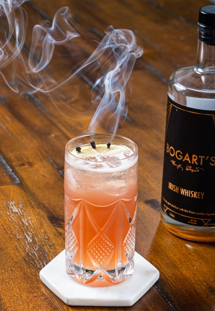 Bogart's Whiskey A Clove Affair Cocktail