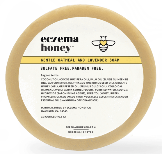 Eczema Honey Gentle Oatmeal and Lavender Soap, $8.95