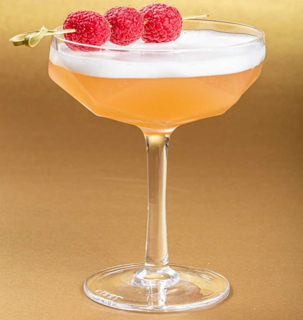 Bogart's Whiskey Garden Bubbles Cocktail