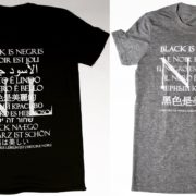 "Negris Lebrum ""Black is"" Tees Declares Black is Beautiful in 12 Languages"