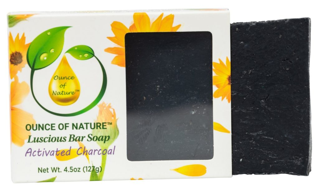 Ounce of Nature Activated Charcoal Soap