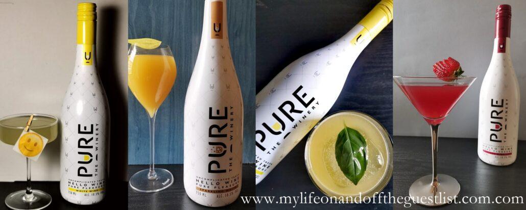 Zero Sugar, 100% Delicious: PURE Winery Low-Calorie Wine Cocktails