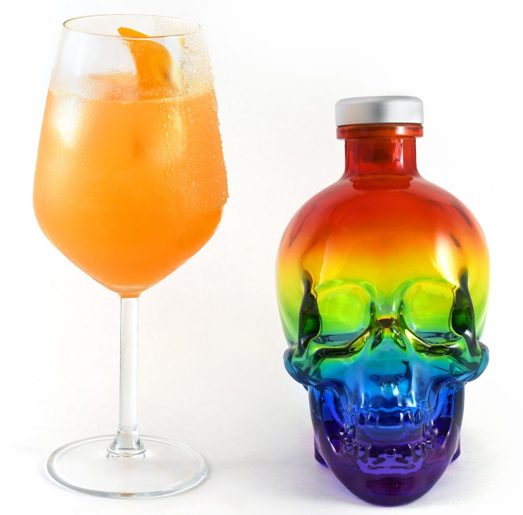 Crystal Head Vodka #MADEWITHPRIDE Cocktail