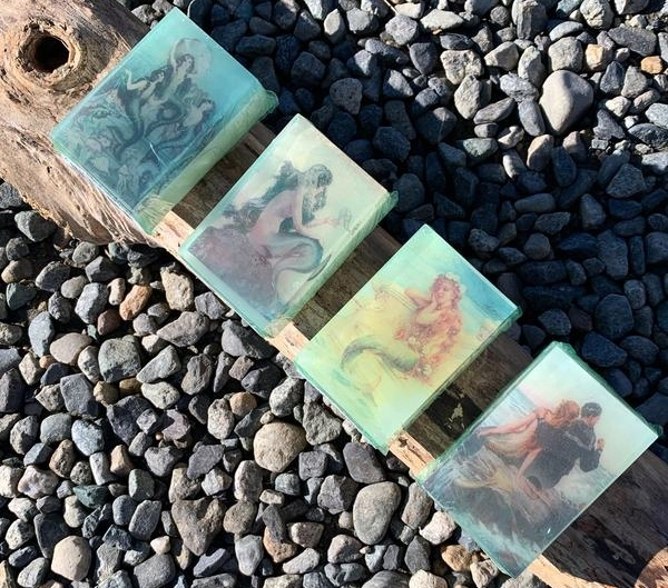 Sea Witch Botanicals Printed Body Soaps