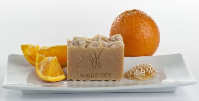 Orange Honey Blossom Artisan Soap by SoapCreek Company, $9.99