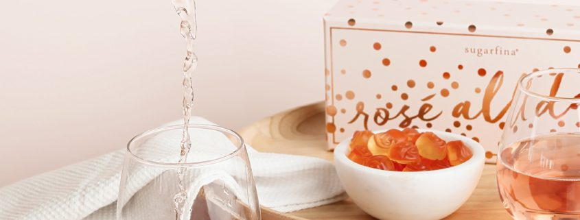 National Rosé Day w/ the Sugarfina Rosé All Day Gummy Collection