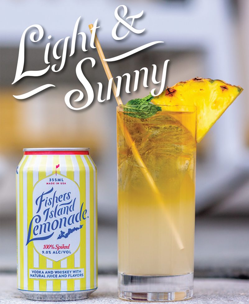 Light & Sunny Summer cocktail