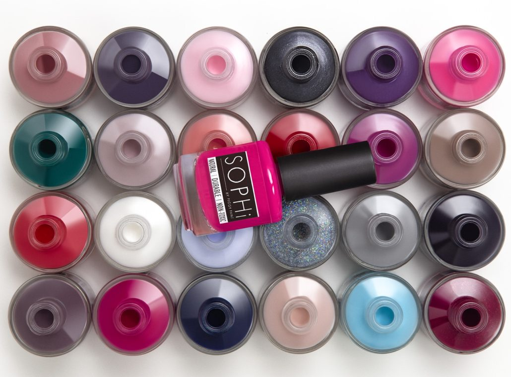 Go Natural This Summer with Water-Based SOPHI Nail Polish
