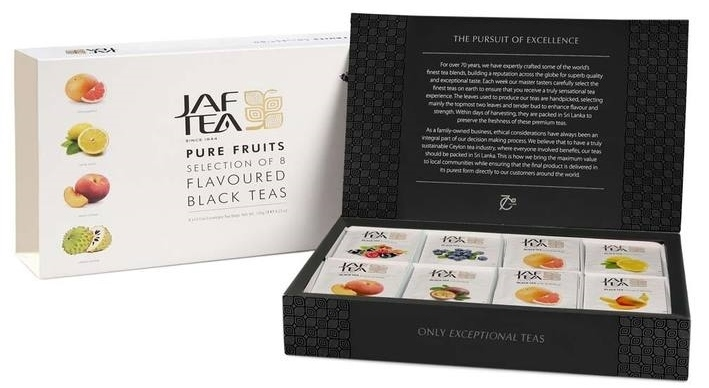 "Afternoon ""Tea"" Delight: Jaf Tea Fall Gift Sets for Tea Lovers"