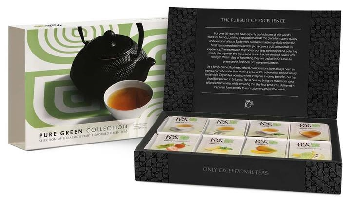 Jaf Tea Pure Green Tea Collection