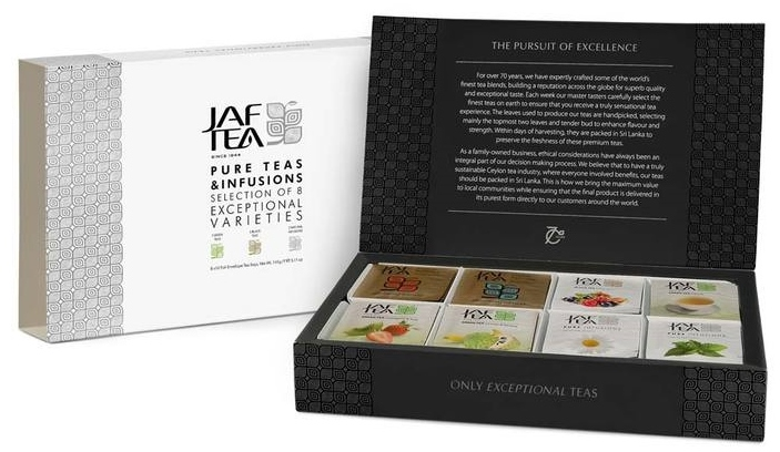 Jaf Tea Pure Teas & Infusions - Tea Sampler / Gift Set