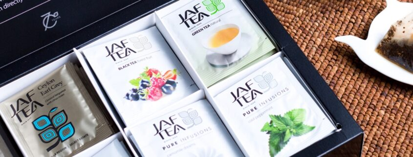 "Afternoon ""Tea"" Delight: Jaf Tea Fall Gift Sets for Tea Lovers"