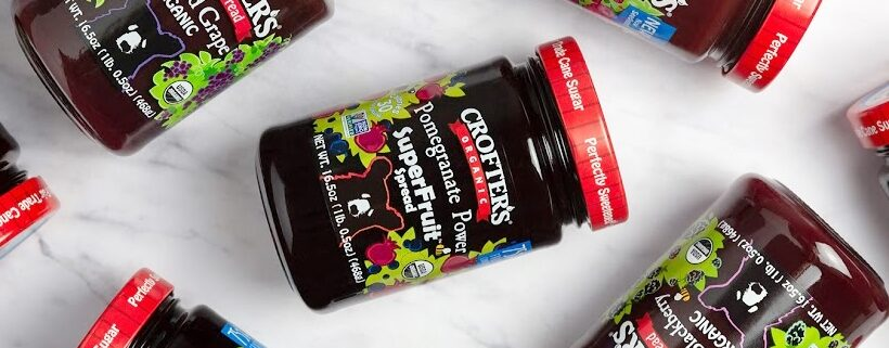 Crofter's Organics Delivers More Fruit & Less Sugar in Every Jar