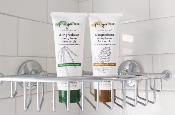 Payaru Skincare Mung Bean Facial Scrub