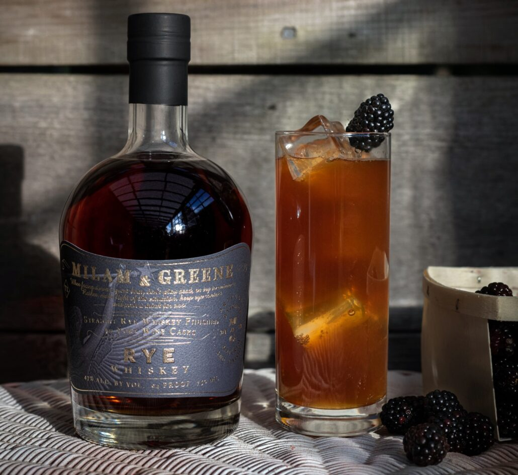 Milam & Greene Port Finished Straight Rye Whiskey