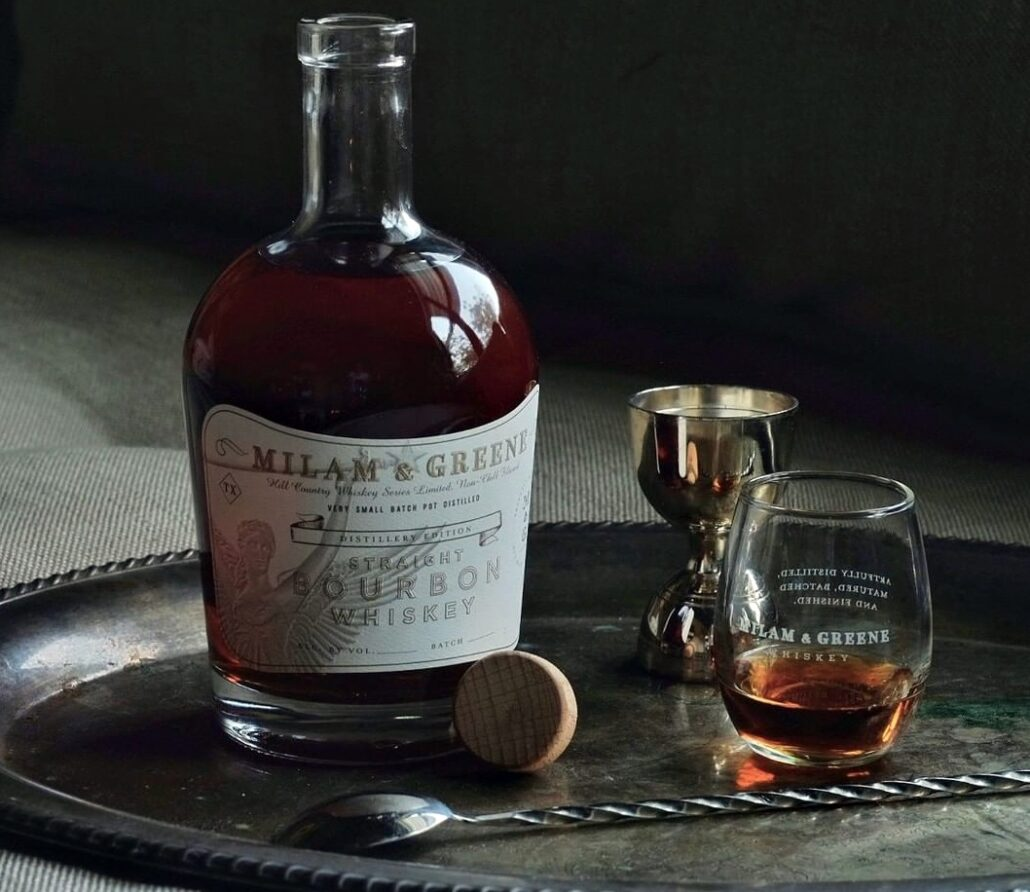 Milam & Greene Single Barrel Straight Bourbon