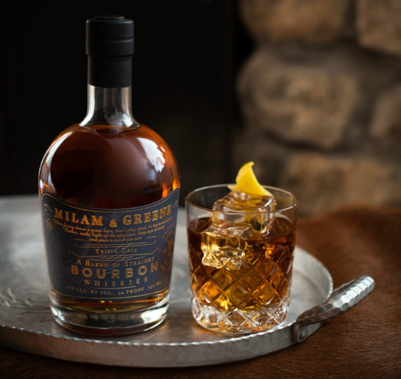 Milam & Greene Triple Cask Straight Bourbon Whiskey