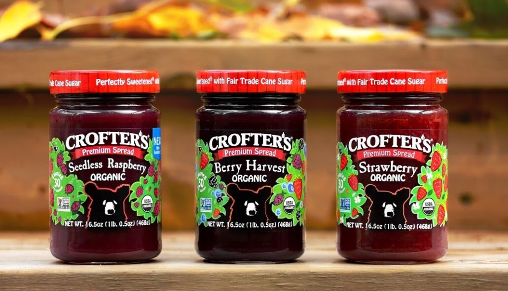 Crofter's Organic Delivers More Fruit & Less Sugar in Every Jar