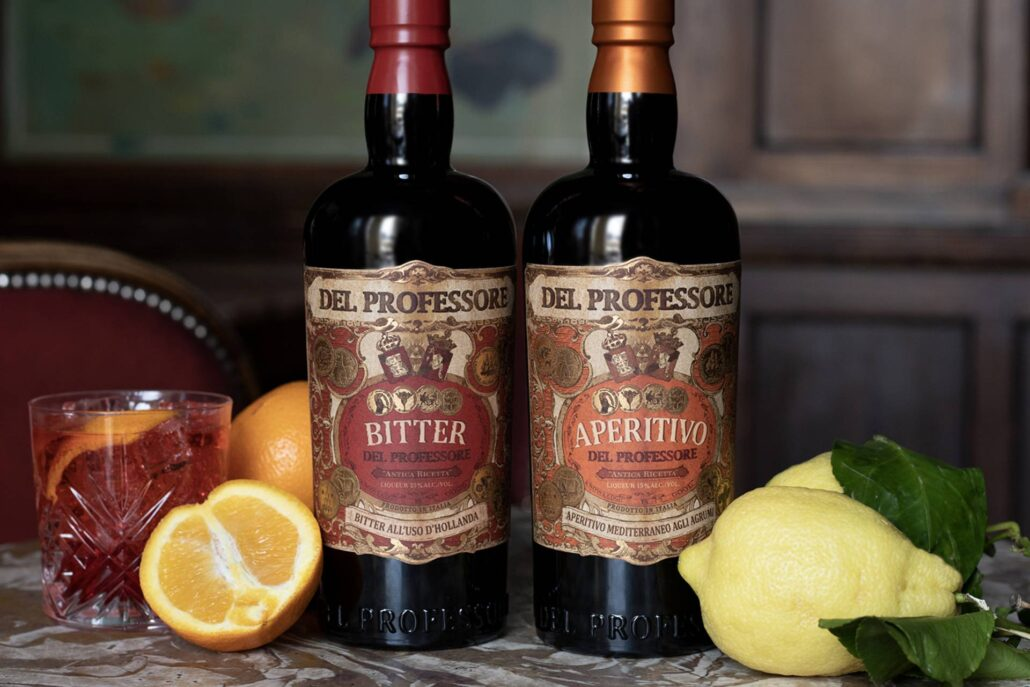 Vision Wine & Spirits Launches Del Professore Vermouth & Spirits