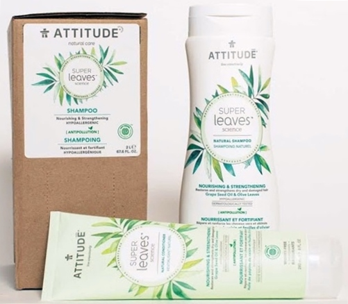 ATTITUDE Living EWG-Verified Haircare