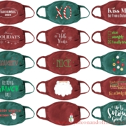 Giftgowns Holiday Masks: Share Your Holiday Spirit While Staying Safe